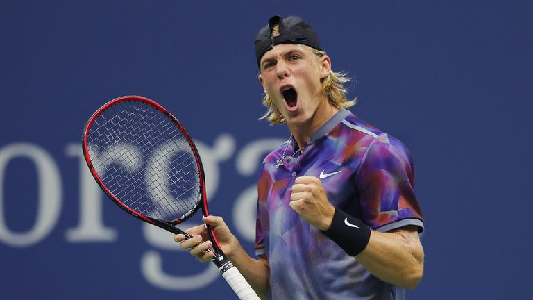 Denis Shapovalov has risen up the rankings to just outside the world's top 50