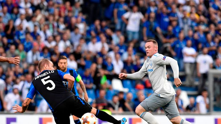 Wayne Rooney is the only player to have found the net for Everton in their opening four Premier League games