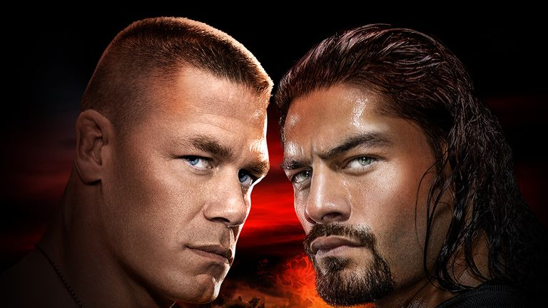 John Cena takes on Roman Reigns in a match that's sure to get the WWE fans booing