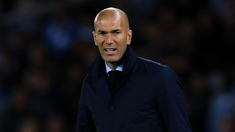 Zinedine Zidane calls for calm after Real Madrid's shock defeat by Real Betis - Football News ...