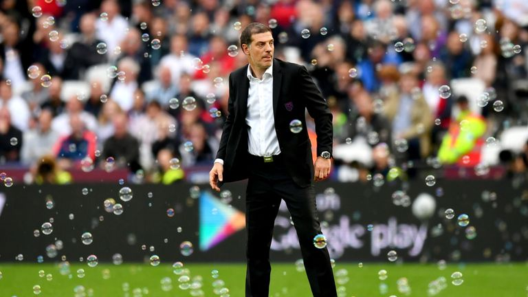 Slaven Bilic's West Ham have picked up just one point on the road this season