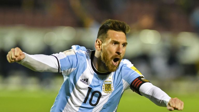 Jesus says he has some way to go before he can match the exploits of Messi