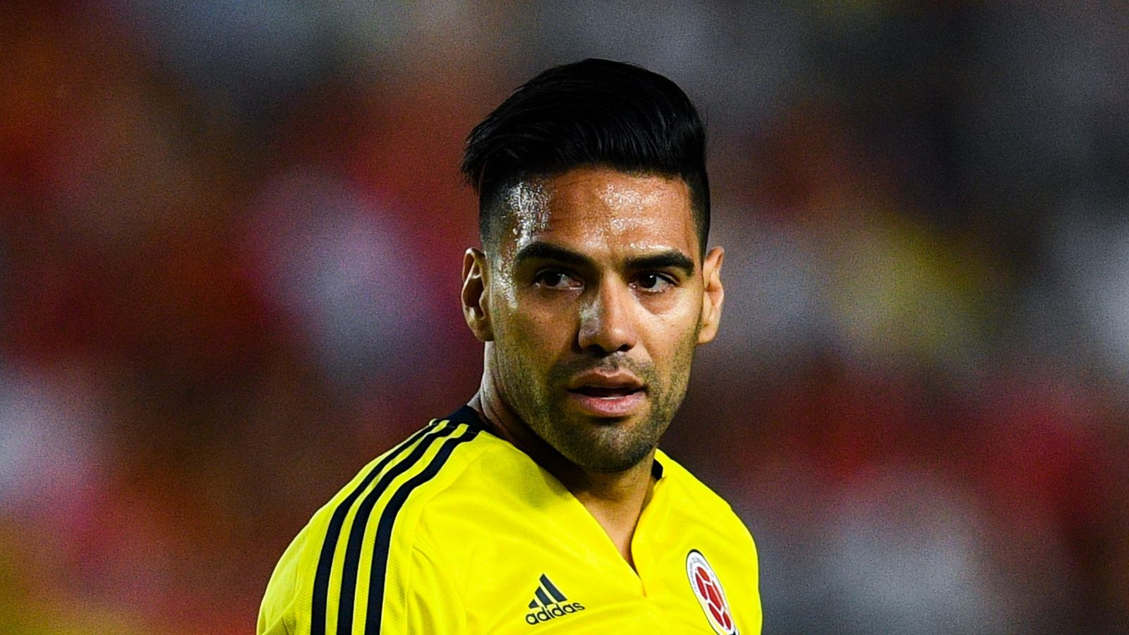Colombia's Radamel Falcao admits discussing draw with Peru