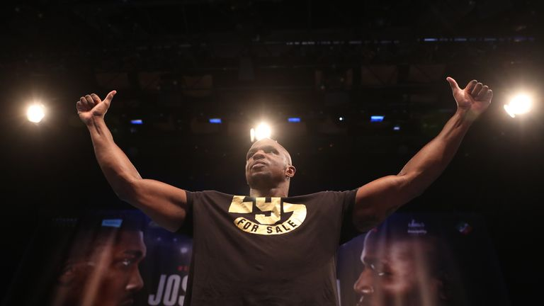 Dillian Whyte is waiting to confirm an opponent
