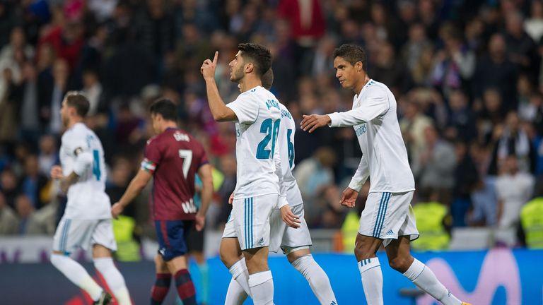 Marco Asensio put in an impressive display against Eibar