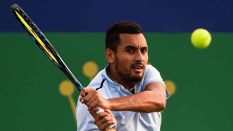 Kyrgios reached the final of the China Open last week