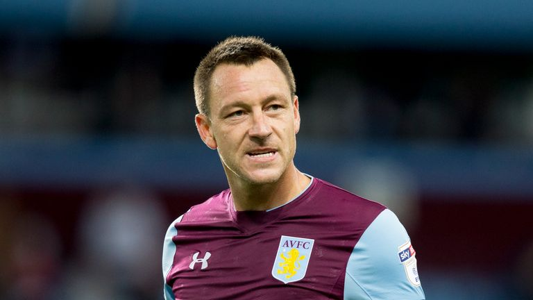 John Terry signed a one-year deal at Aston Villa last summer
