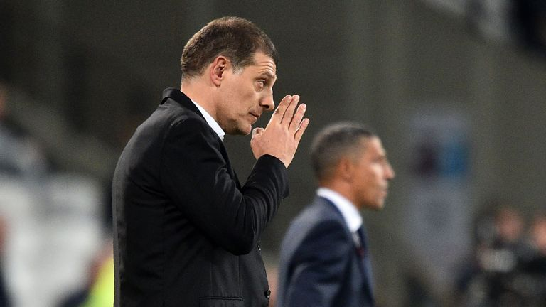 Slaven Bilic was appointed West Ham boss in the summer of 2015