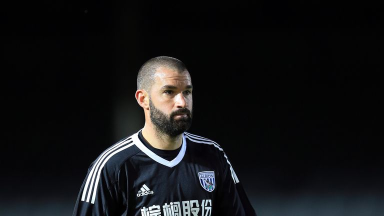 Boaz Myhill suffered an injury against Leicester on Monday but could be fit to face the Saints