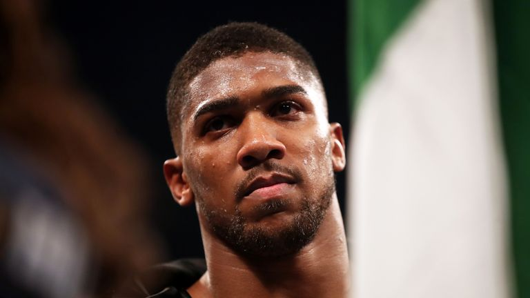 Joshua says he is willing to fight both Tyson Fury and Deontay Wilder in 2018