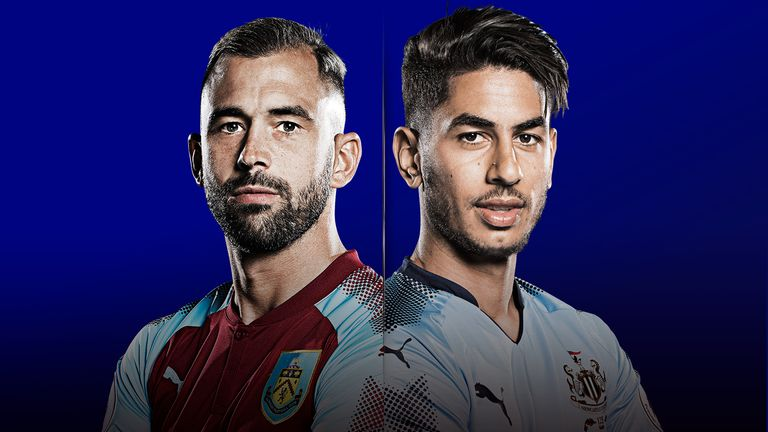 Watch Burnley v Newcastle United live on Monday Night Football from 7pm