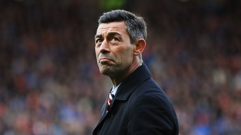 Pedro Caixinha is under huge pressure at Rangers
