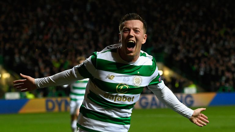 Callum McGregor levelled for Celtic with 16 minutes left - but Bayern were to hit back through Javi Martinez