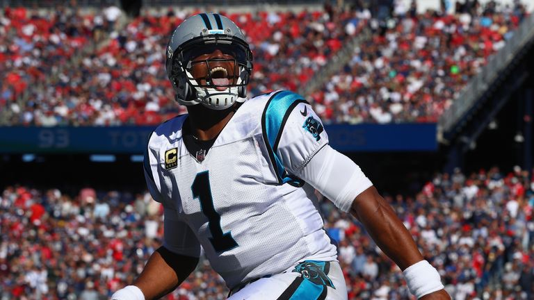 The 28-year-old quarterback has been with the Carolina Panthers since 2011
