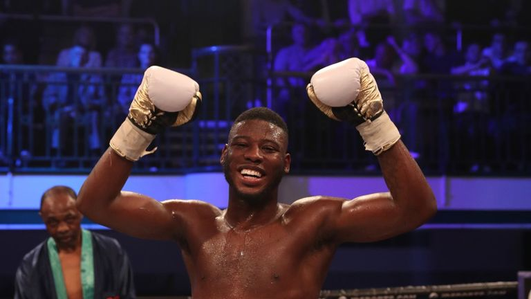Isaac Chamberlain is undefeated in his nine career bouts, winning four of them by knockout