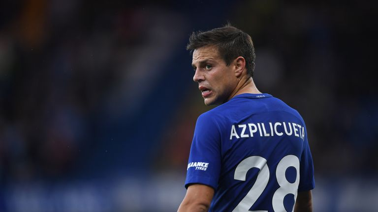 Azpilicueta is hoping to put pressure on their rivals