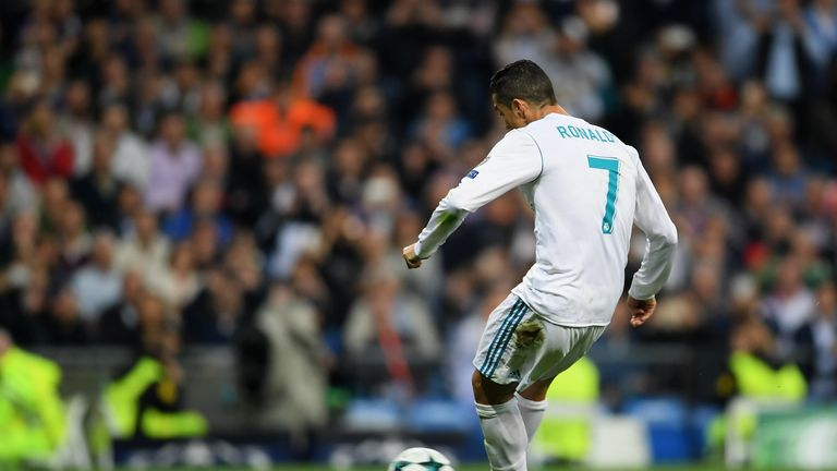 Cristiano Ronaldo pulled Real Madrid level from the spot