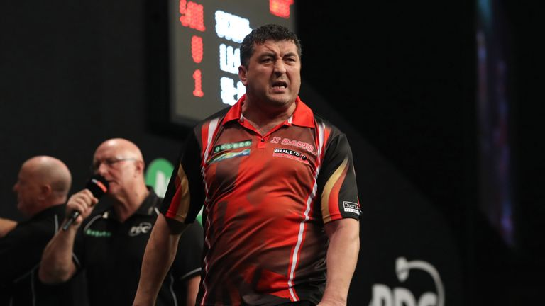 Mensur Suljovic is one of the most in-form players on the darts circuit, he continues his quest for the Grand Prix title on Friday