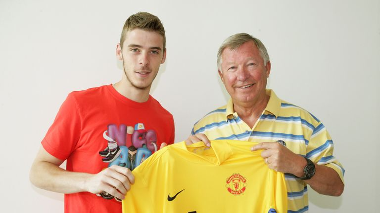 The Spaniard was signed by Sir Alex Ferguson in 2011 from Atletico Madrid