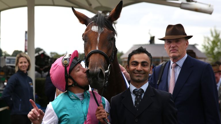 Enable prevails in tight Arc finish