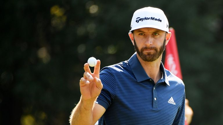 Dustin Johnson ended the year on top of the world rankings