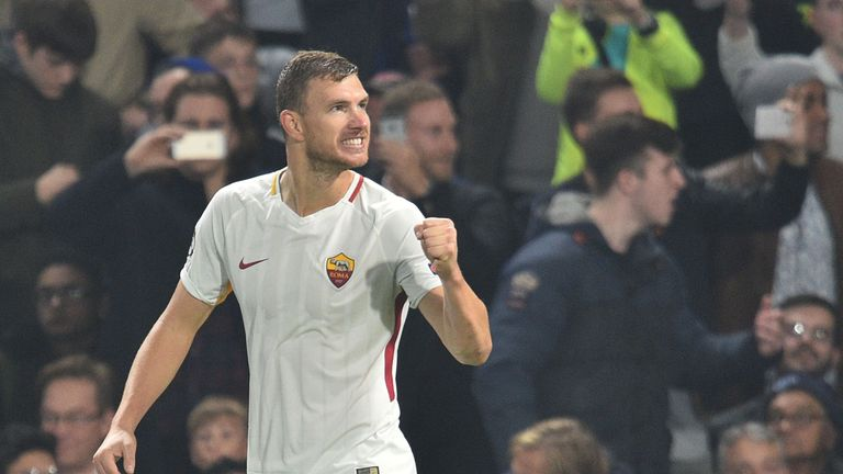 Chelsea are close to completing a deal for Roma's Edin Dzeko