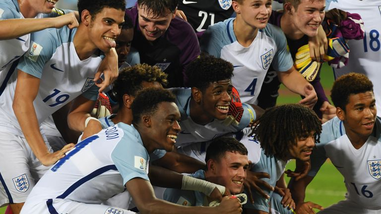England face Spain in the final of the U17 World Cup on Saturday