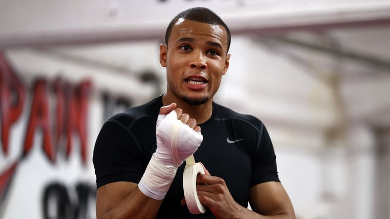 Chris Eubank Jnr is fired up for his battle in Stuttgart on Saturday