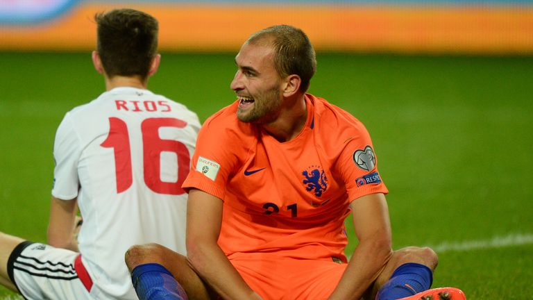 Netherlands' hopes of reaching the World Cup are hanging by a thread