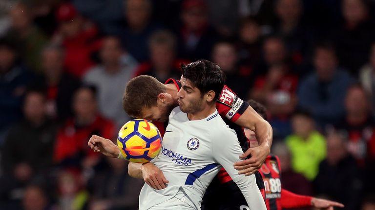 Alvaro Morata missed several good opportunities for Chelsea
