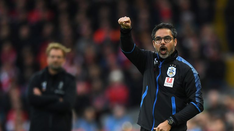 Huddersfield's automatic promotion hopes were fading in April