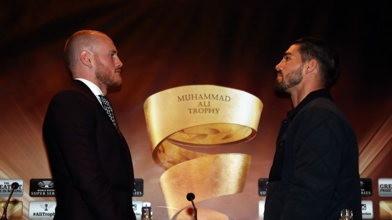 The super-middleweights meet in the World Boxing Super Series with the winner going on to meet Chris Eubank Jr in the semi-final