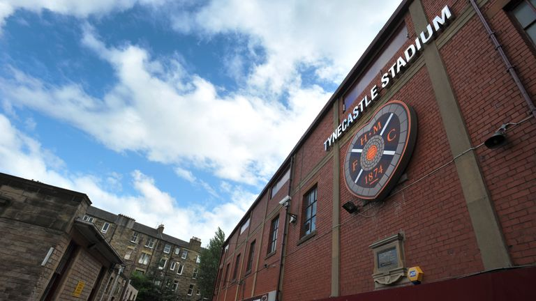 Hearts and Hamilton have been hit by internet fraud, the clubs have confirmed