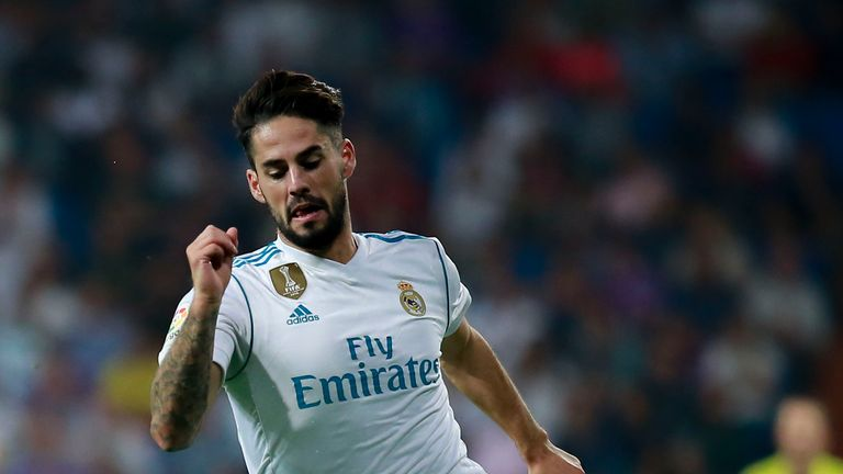 Isco was the stand-out performer for Madrid at the Bernabeu