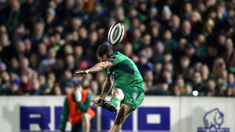 Jack Carty was on target for Connacht at the Sportsground
