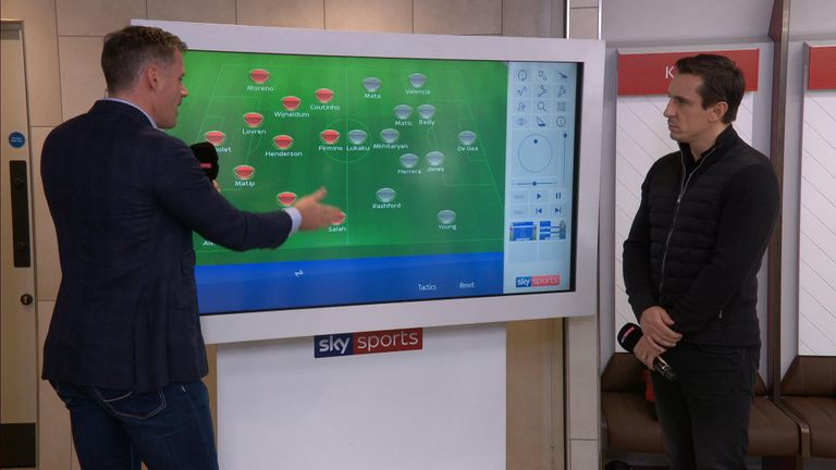 Jamie Carragher picks his Liverpool team for Saturday's game at Anfield
