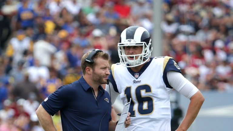 Sean McVay has improved the Rams markedly since arriving as head coach