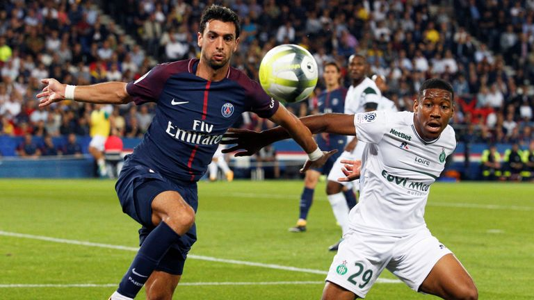 Javier Pastore could be on the move in January, according to reports in Italy