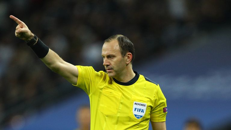 Sweden's Jonas Eriksson will referee Saturday's game between Tianjin Quanjian and Shandong Lune