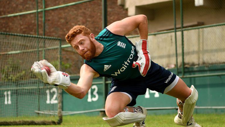 Bairstow is playing his 47th Test for England in Adelaide