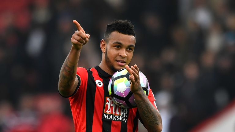 Josh King is one of a number of Bournemouth players who face fitness tests