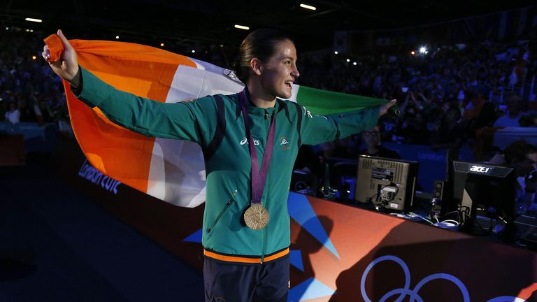 Taylor is looking forward to boxing in Ireland next year