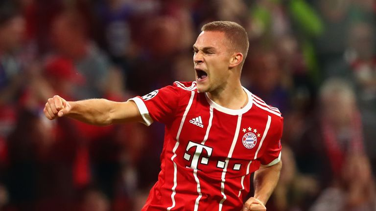 Bayern Munich and Germany right-back Joshua Kimmich poses attacking threat