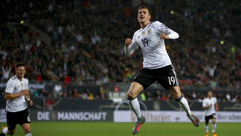Goretzka has been a prolific scorer in 12 games for Germany