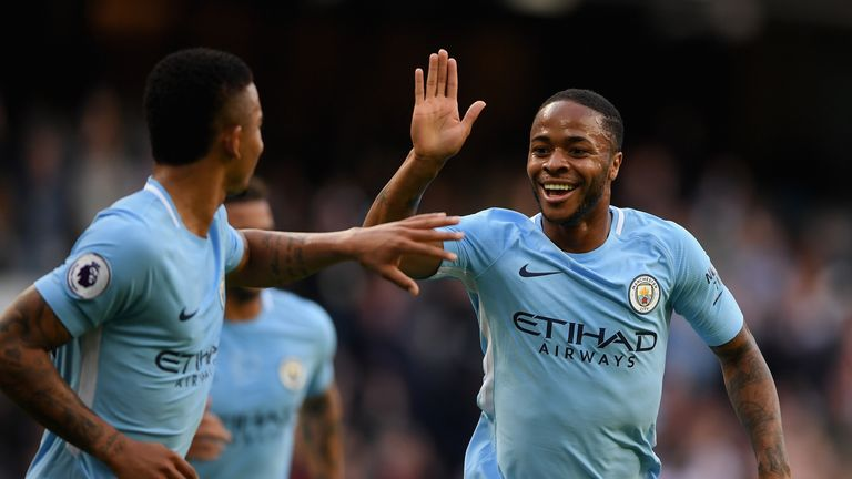 City are currently top of the Premier League following seven victories in eight games