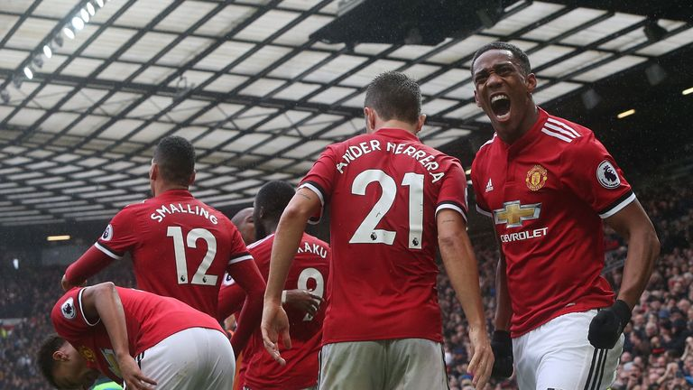 United are five points behind City after 10 games