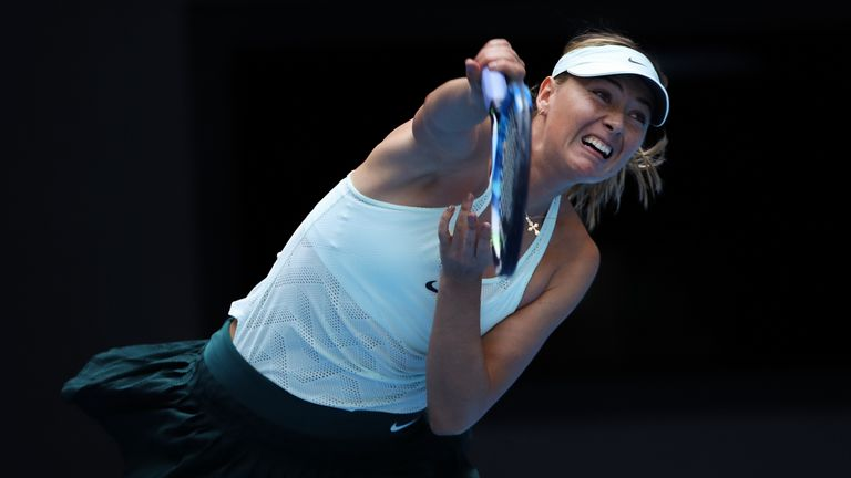 Maria Sharapova remain on course to win the Tianjin Open