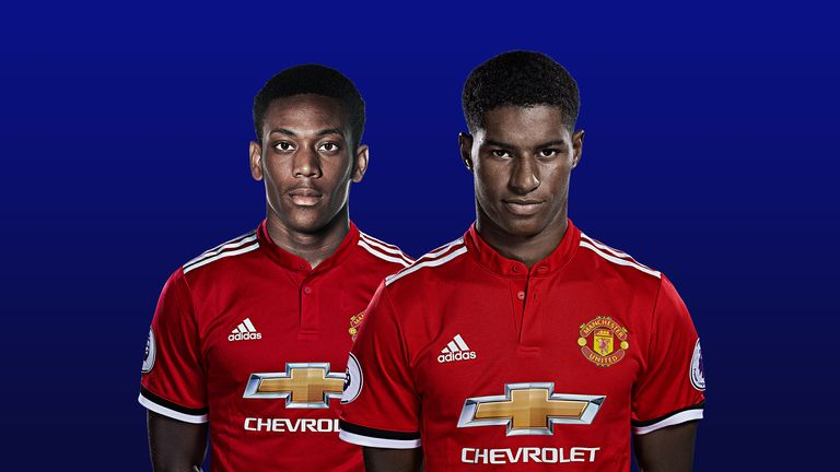 Image result for martial and rashford mata
