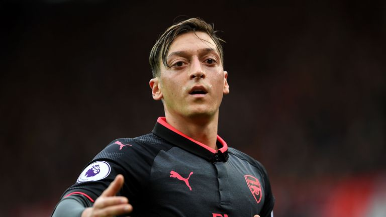 Will Mesut Ozil miss out for Arsenal against Watford?