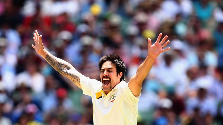 Mitchell Johnson was the star performer when the Ashes were last contested in Australia
